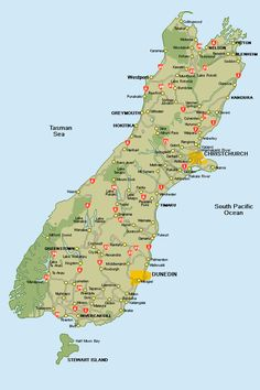This is the south island. Would love to visit the north island (hint, hint, Jessica)