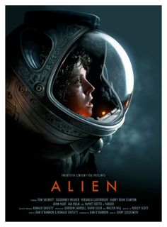 Check out this wonderful poster created in Photoshop by designer Candykiller, highlighting Sigourney Weaver's Ripley character as she was immortalized in Ridley Scott's Alien.