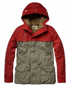 Outdoor mountaineering jacket with hood - Jackets - Official Scotch & Soda Online Fashion & Apparel Shops