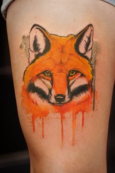 red fox tattoo - Buscar con Google