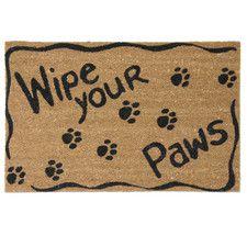 Ruff Life Wipe Your Paws Doormat