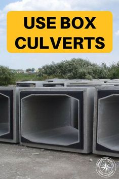 Forget Shipping Containers Use Box Culverts - You pay out of your nose for a reinforced shipping container that you hope doesn't get rusty and leak over time. For a typical reinforced 10ft shipping container you could probably pay about 10k. For the same sized customized concrete culverts you are looking around 6k. #boxcluvert