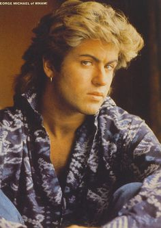 Photo of george michael for fans of George Michael. george michael, singer, handsome, gay