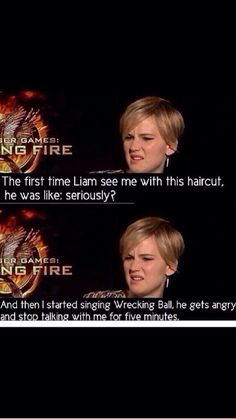 Funny Jennifer Lawrence in an interview about Catching Fire. Such humor she got. The Hunger Games, Hunger Games Memes, J Law, Humor Mexicano, Liam Hemsworth, Katniss Everdeen, Catching Fire, Jeniffer Lawrance, Jennifer Lawrence Funny