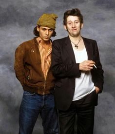 Beauty and the Beast lol Shane Mcgowan of The Pogues