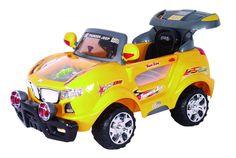 Girls/Boys Ride On Push Race Car Yellow Jeep Wireless R/C Wheels 2-7 #BestRideOnCars