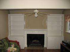 Fireplace Shelving. Amazing Best Ideas About Bookshelves Around ...