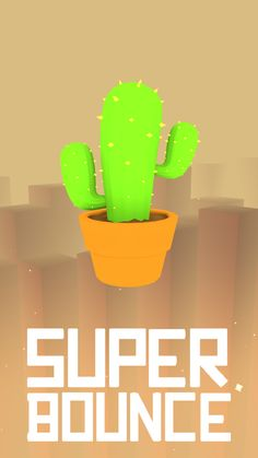 Cactus   Super Bounce #gamedev #unity #games