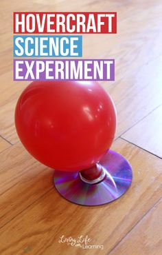 My kiddos are always asking for hands on science activities, even if it's one we have done over and over like this Hovercraft Science experiment project. It almost seems like magic not science, and even though I have given them the scientific explanation they are still in awe of it!