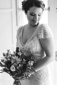Maggie Bride Daniela is wearing Ettia by Maggie Sottero.