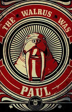 I am the Walrus - koo-koo-ka-chu http://abduzeedo.com/typography-mania-115