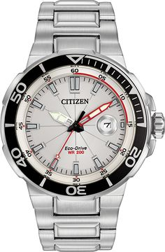 CITIZEN® Endeavor brings the nostalgia of racing on open waters to this handsome collection. (AW1420-55A)