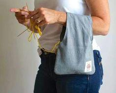 Petite sac à faire pour ranger sa laine... ...