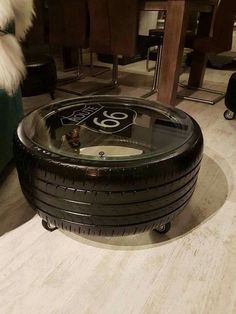 35 Inventive Tire Recycle Projects – RenoGuide – Australian Renovation Ideas and… - Diy furniture industrial Tire Furniture, Car Part Furniture, Automotive Furniture, Automotive Decor, Recycled Furniture, Furniture Ideas, Furniture Buyers, Furniture Shopping, Automotive News
