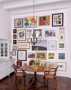 Amazing gallery wall #HomeDecorTips