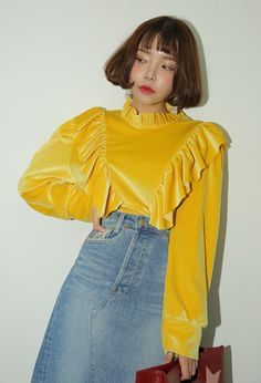 Classy Outfits, Pretty Outfits, Cute Outfits, Mom And Son Outfits, Fashion 2020, Fashion Trends, Crop Top Outfits, Korean Outfits, Blouses For Women