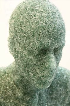 Shattered Glass Sculpture by Daniel Arsham