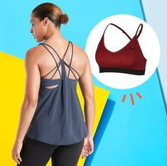Stock up on the best new summer workout gear items for women. Discover the perfect tank tops, shorts, sports bras, and socks for hot and sweaty fitness. Look Younger, Workout Gear, Bra, Tank Tops, Fitness, Summer, Image, Women, Fashion