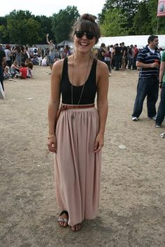 I have no idea who the person is but I love her outfit.....good for festivals??
