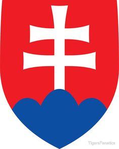 Coat of arms of Slovakia - Štátny znak Slovenska – Wikipédia Bratislava, Slovakia Flag, Prague Spring, Cross Symbol, Warsaw Pact, National Animal, Central And Eastern Europe, Pattern Photography, Aircraft Design
