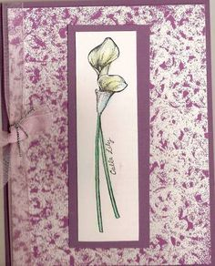 Easter Calla Lily_vicky_gould by Vicky Gould - Cards and Paper Crafts at Splitcoaststampers