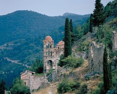 Never forget! Mystras…Peloponnese,Greece