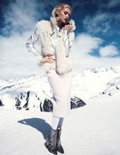 The DV Mode September 2013 Editorial Stars Martina Dimitrova #Winter #Fashion