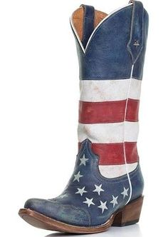 Patrotic cowboy boots