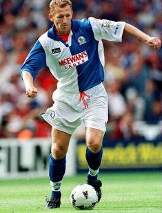 Nicky Marker of Blackburn Rovers in 1995.