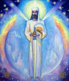Mahatma Morya Lord of the Shambhala 7 Chakras, Archangel Zadkiel, Nicholas Roerich, Esoteric Art, Ascended Masters, Doreen Virtue, Spirited Art, Blessed Mother, Spiritual Life