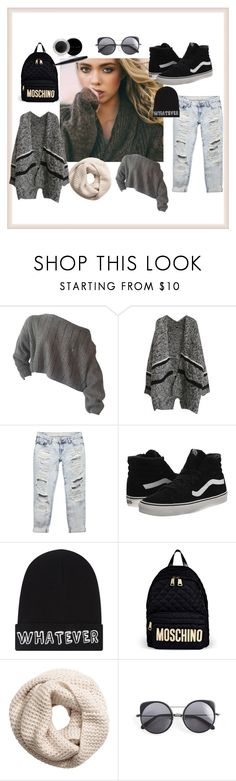 """Nema naslova. #Lejlaaaaa"" by lejla-tabakovic ❤ liked on Polyvore featuring Wet Seal, Vans, Local Heroes, Moschino, H&M, Wood Wood and Mary Kay"