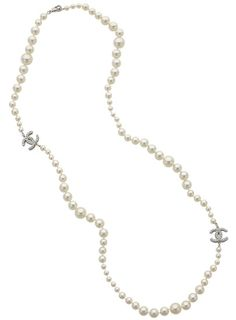 Fantastisk Chanel-perlekæde
