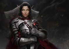 Knight-Lord Nystiri Ash'amare by Ina Wong : ReasonableFantasy