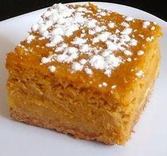 Paula Deen's Butter Pumpkin Cake. This is way better than pumpkin pie!!!!