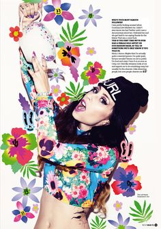 Kreayshawn by Louie Banks