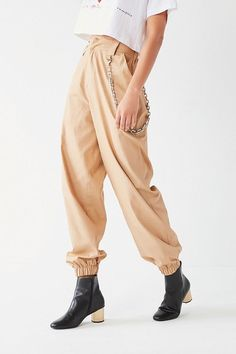 I.AM.GIA Cobain Relaxed-Fit Chain Pant - $109