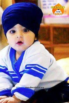  Little Adorable Khalsa! Share & Spread this bundle of joy! Cute Baby Boy Images, Cute Kids Pics, Baby Boy Pictures, Cute Love Pictures, Little Babies, Cute Babies, Pregnancy Calendar, Baby Hacks, Baby Tips