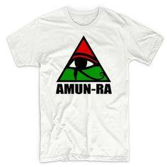 Amun-Ra T-Shirt Egyptian God Ancient Kemet Black History Cotton Tee