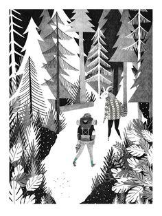 Liekeland, ilustraciones de ensueño