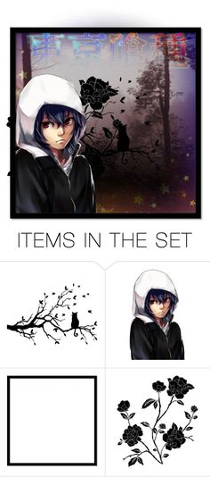 """Ayato Kirishima.. I love him lool"" by an-anime-babe23 ❤ liked on Polyvore featuring art"