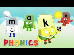 Phonics - ABC Adventures | Learn to Read with the Alphablocks - YouTube Easy Spells, Hard Words, Phonics Sounds, Learn To Read, Kids Learning, Reading, Children, Videos, Youtube