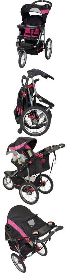 baby and kid stuff: Baby Trend Jogging Stroller Expedition Swivel Jogger Child Kids Toddler New BUY IT NOW ONLY: $65.97