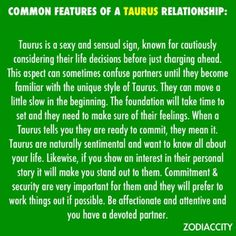 Zodiac City= scarily true Common features of a Taurus relationship. Leo And Taurus, Taurus Traits, Taurus Woman, Taurus And Gemini, Taurus Bull, Taurus Quotes, Zodiac Quotes, Zodiac Facts, Astrology Taurus