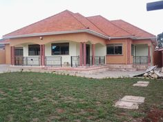 7 Bedroom Houses for Sale . 7 Bedroom Houses for Sale . Nice Bungalow Houses In Uganda with House Plans Uganda 4 Bedroom House Designs, 4 Bedroom House Plans, Three Bedroom House, Bedroom Ideas, Modern Bungalow House, Bungalow House Plans, House Floor Plans, Hut House, Cottage House