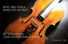Reverse viola jokes:  violist get their revenge via Classic fm.com