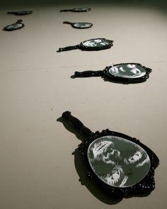 Contemporary Sculpture, Contemporary Art, Art Projector, Projection Installation, Stippling Art, Mirror Photography, Big Dipper, Shadow Art, Mirror Art