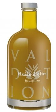 Bouteillan olive oil from Domaine de Valdition in Provence, France (voted best French olive oil). You can buy it at www.theflavorshop.be