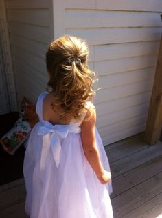 Gorgeous hair for a little one