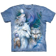 UNFORGETTABLE JOURNEY Wolf T-Shirt Native American Indian Wolves Art S-5XL NEW! #wolves #nativeamerican #wolfpack #wolf