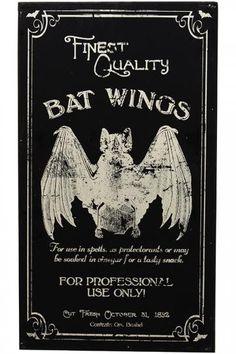 Bat Wings Art Panel